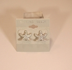 Puffy Starfish Earrings