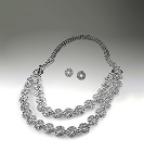 Crystal & Silver Necklace