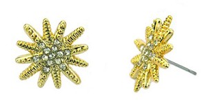 David Yurman Inspired Gold Starburst Earrings