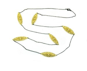 Gold Filagree Necklace